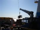 Our Phantom ROV being mobilized for International Telecom aboard the MV OCEAN FOX TROT in Port Aux Basques, Newfoundland.