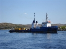The MV OCEAN FOXTROT in Port Aux Basques, Newfoundland