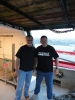 World renowned Side Scan Sonar expert, Garry Kozak and Terry Dwyer in July 2012.
